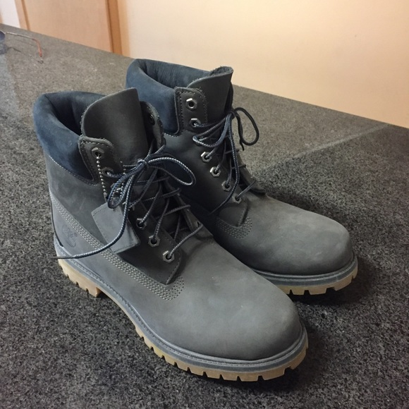 Brand new charcoal timberland boots